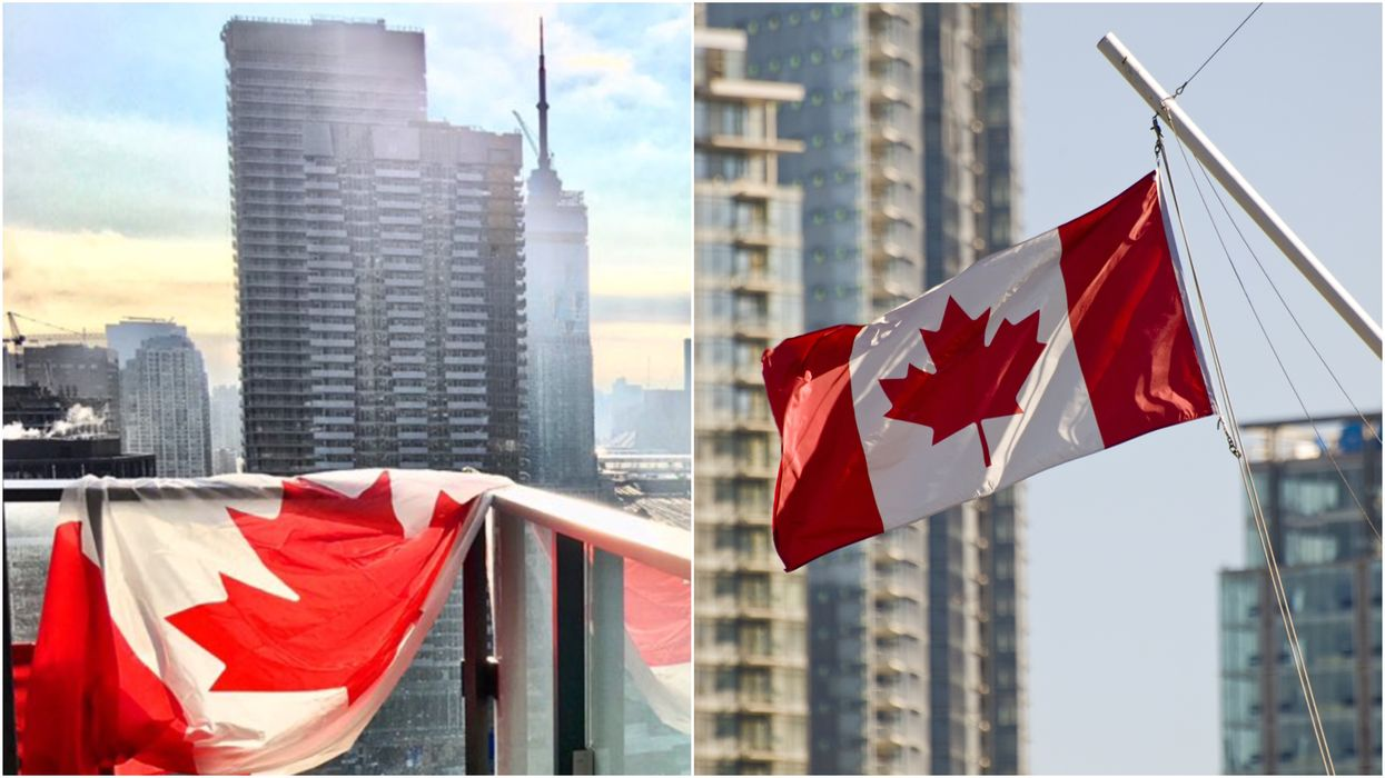 COVID-19 In Canada: Canadians Show Solidarity By Flying The Flag Everywhere (PHOTOS)