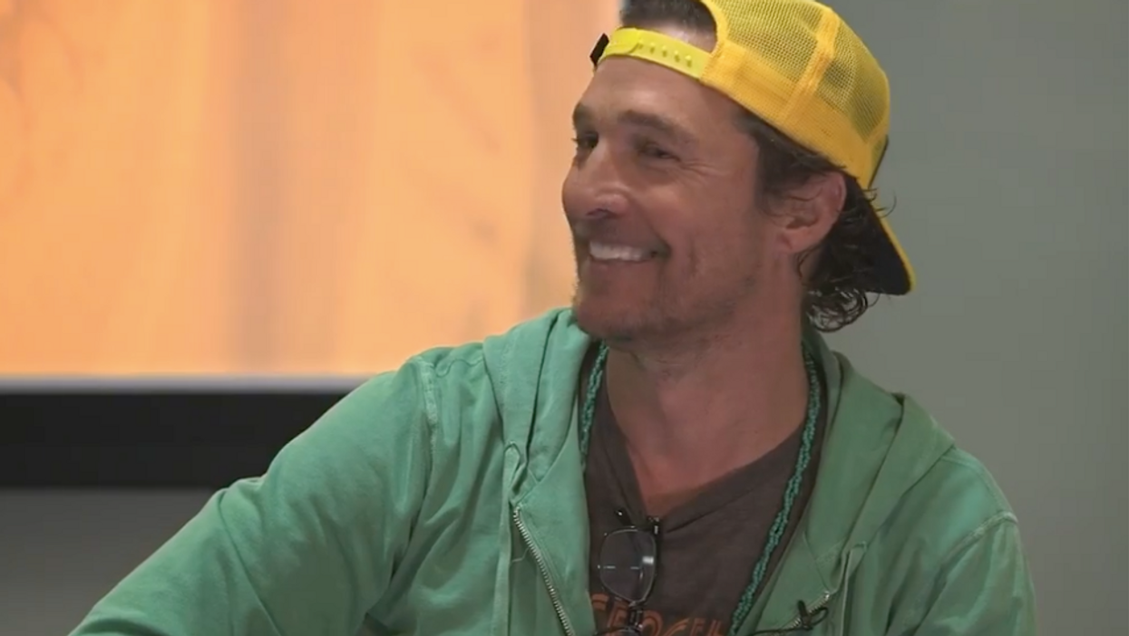 Matthew McConaughey Spotted On A UT Austin Zoom Call Is Adorable
