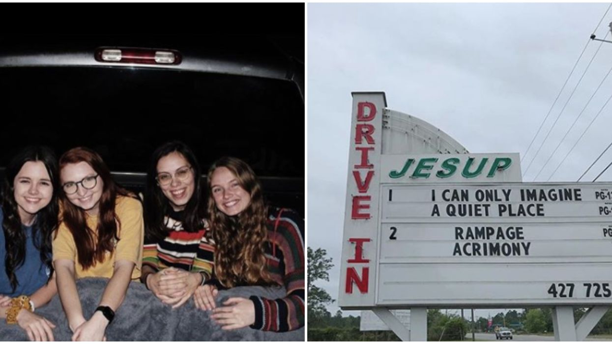 Drive-In Theatre In Georgia Is Great For A Social-Distancing Date