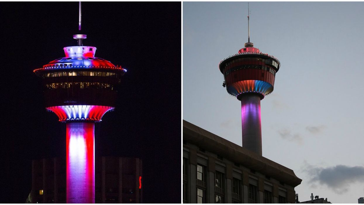 Calgary Tower Colouring Contest Means You Can Pick How It Magically Lights Up This Spring