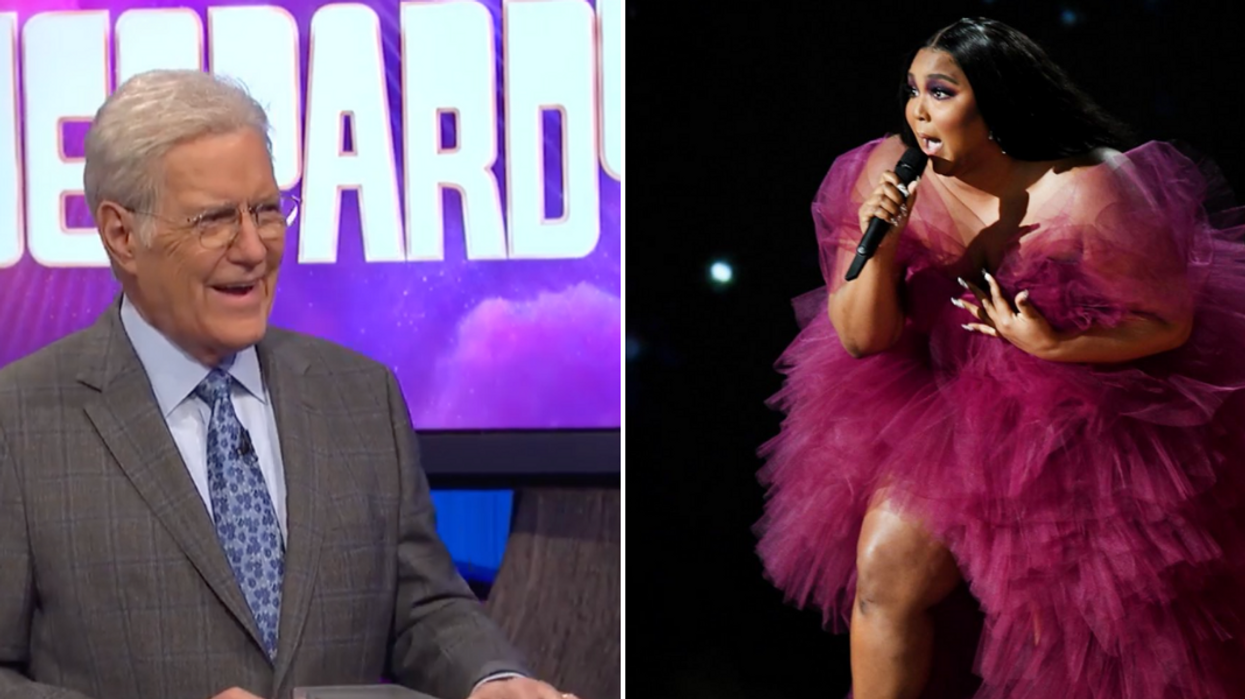 'Jeopardy!' Fans Can't Get Over Alex Trebek Reciting Lizzo Lyrics Last Night (VIDEO)
