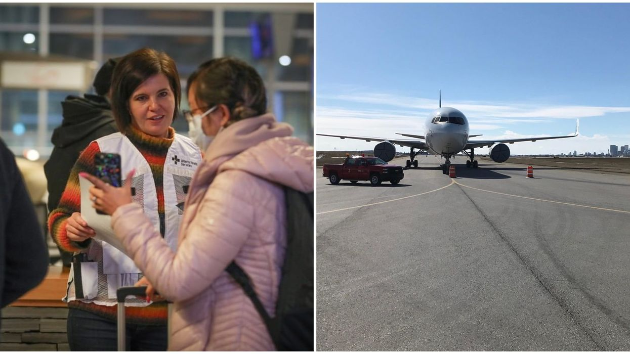Calgary Airport Now Has Health Officials Greeting Travellers & Demanding They Self-Isolate