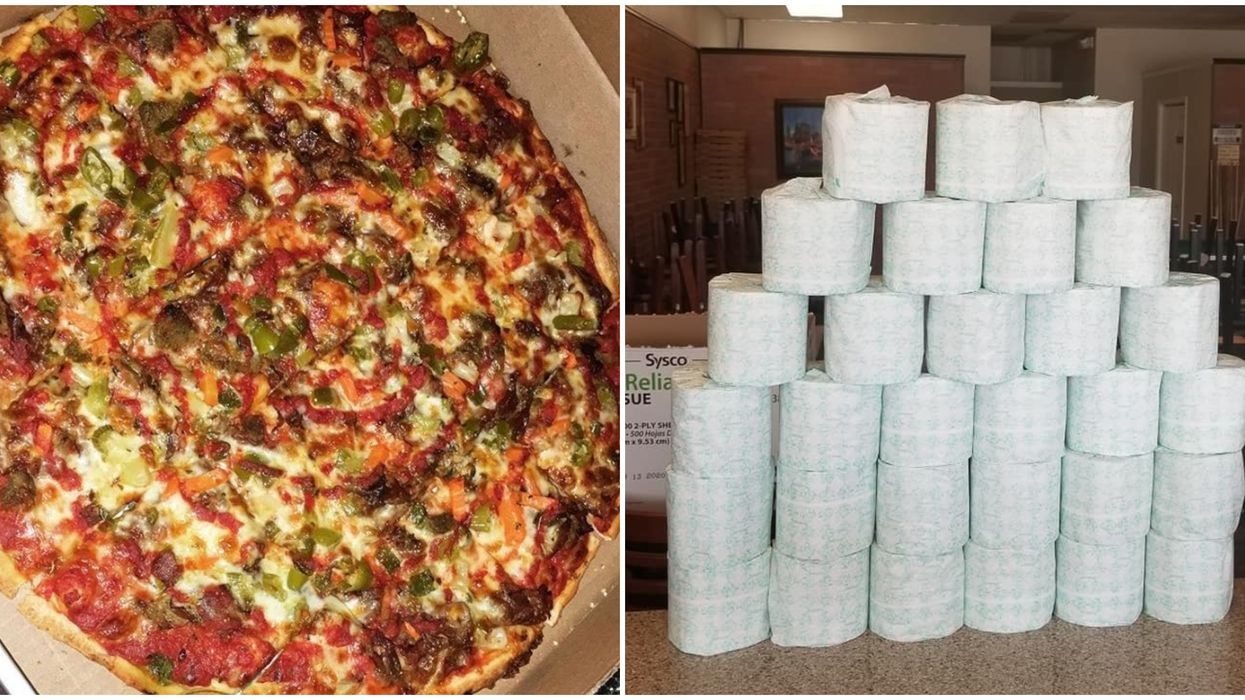 Pizza Delivery In Virginia Beach Now Comes With Toilet Paper At This Local Spot