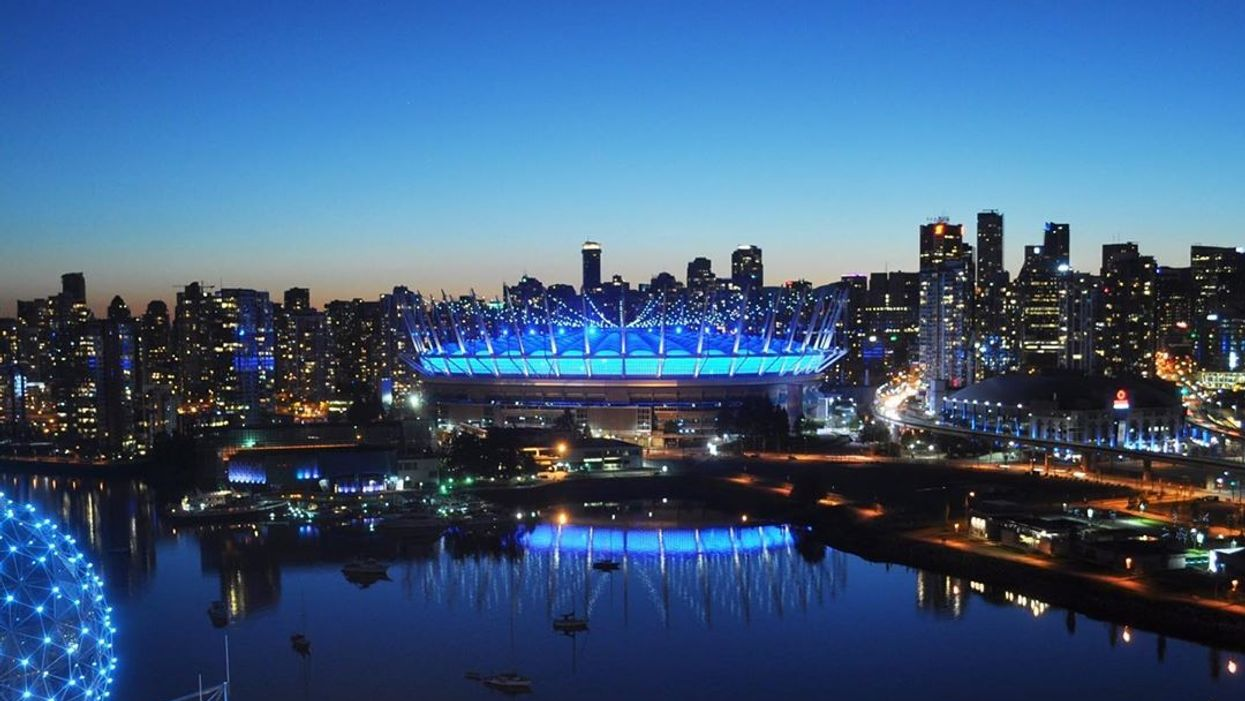 Vancouver Health Care Heroes: The City Is Lighting Up Blue All Month To Show Them Love