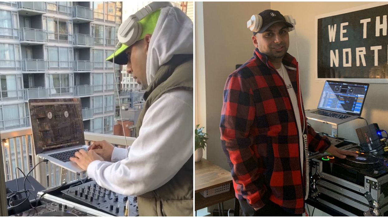 Vancouver's Balcony DJ Has Fans All Over The City For His Epic Nightly Jams