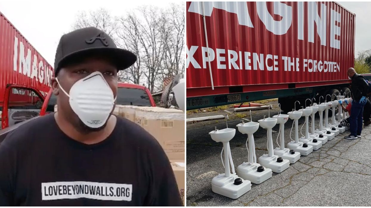 The Coronavirus Outbreak In Austin Has Led To Mobile Hand Washing Stations For The City