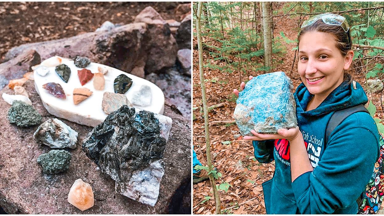 Princess Sodalite Mine In Ontario Has Rare Minerals You Can Collect & Take Home