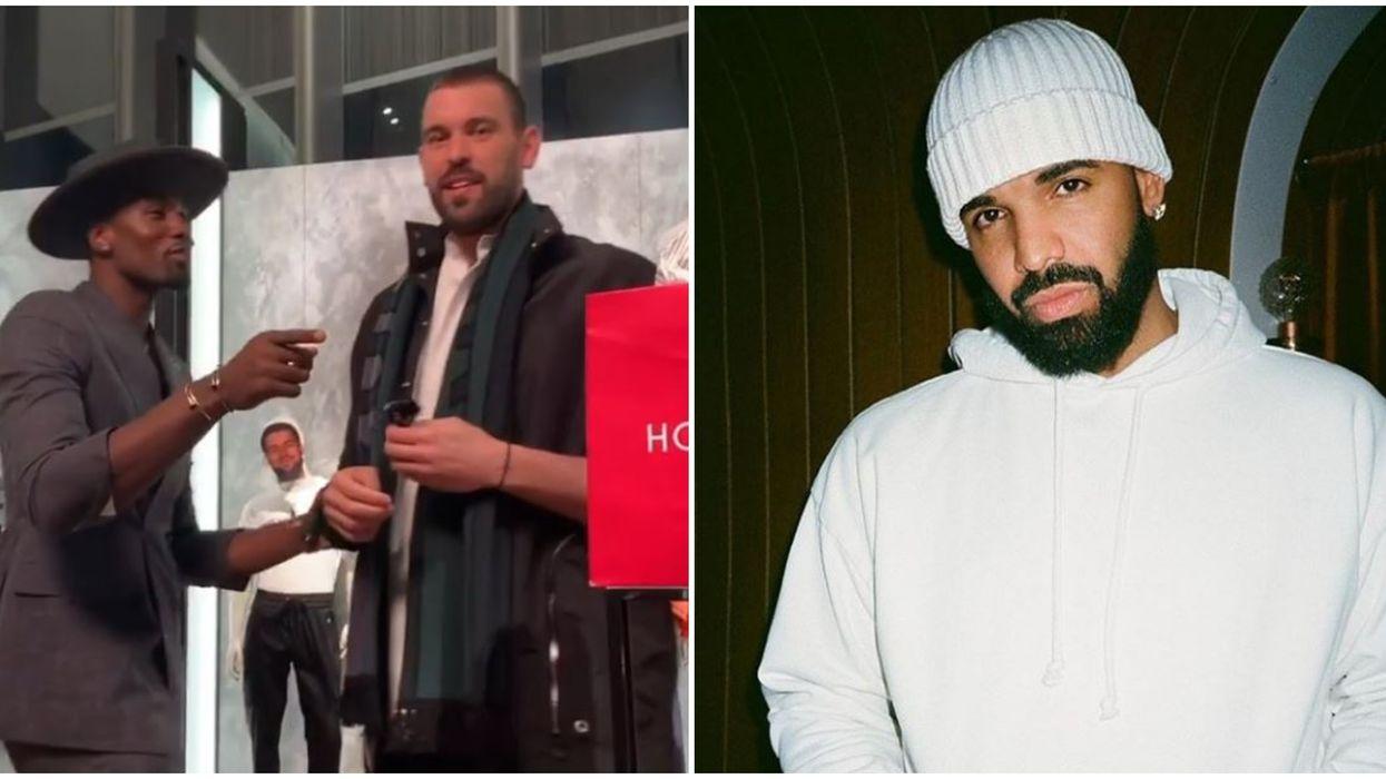Serge Ibaka Shows Marc Gasol A Video Of Drake Mocking His Fashion Sense