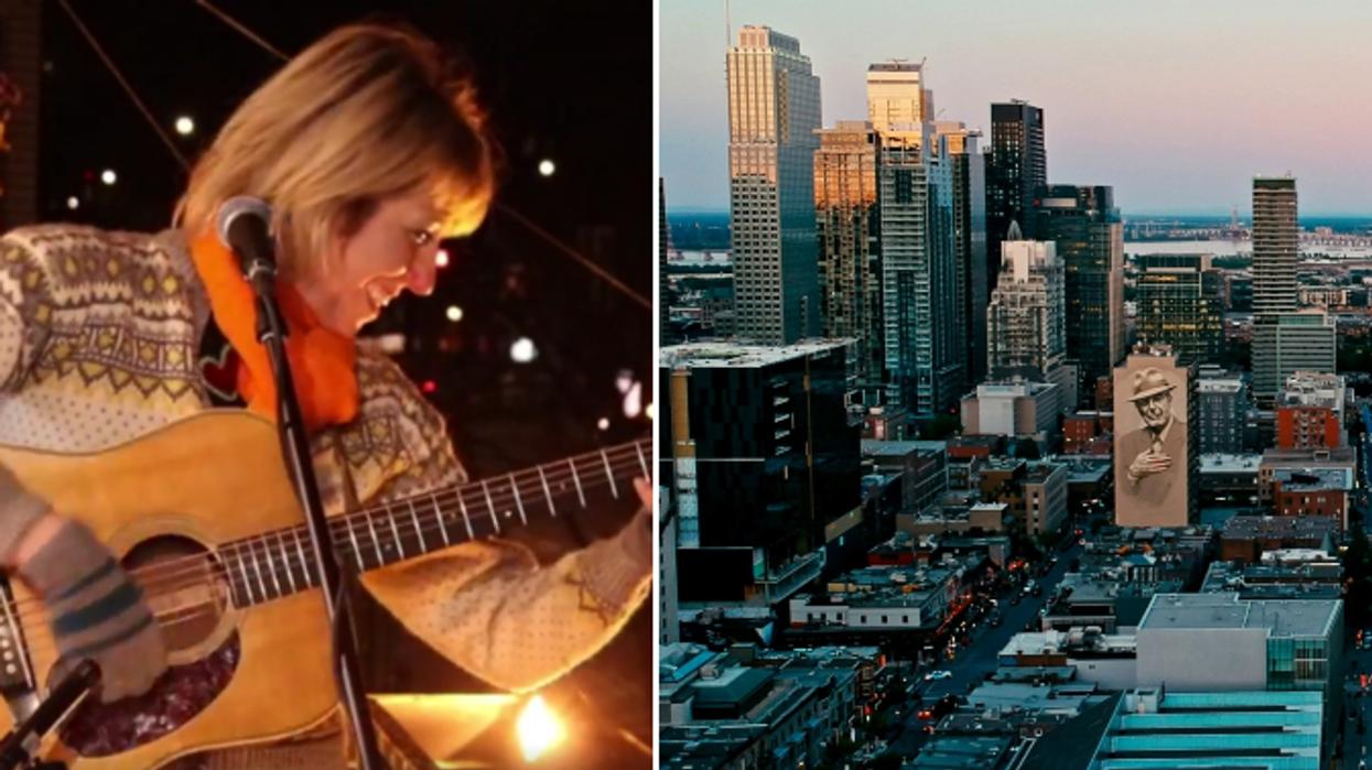 Les Montréalais peuvent chanter en choeur lors de concerts de balcon ce mois-ci