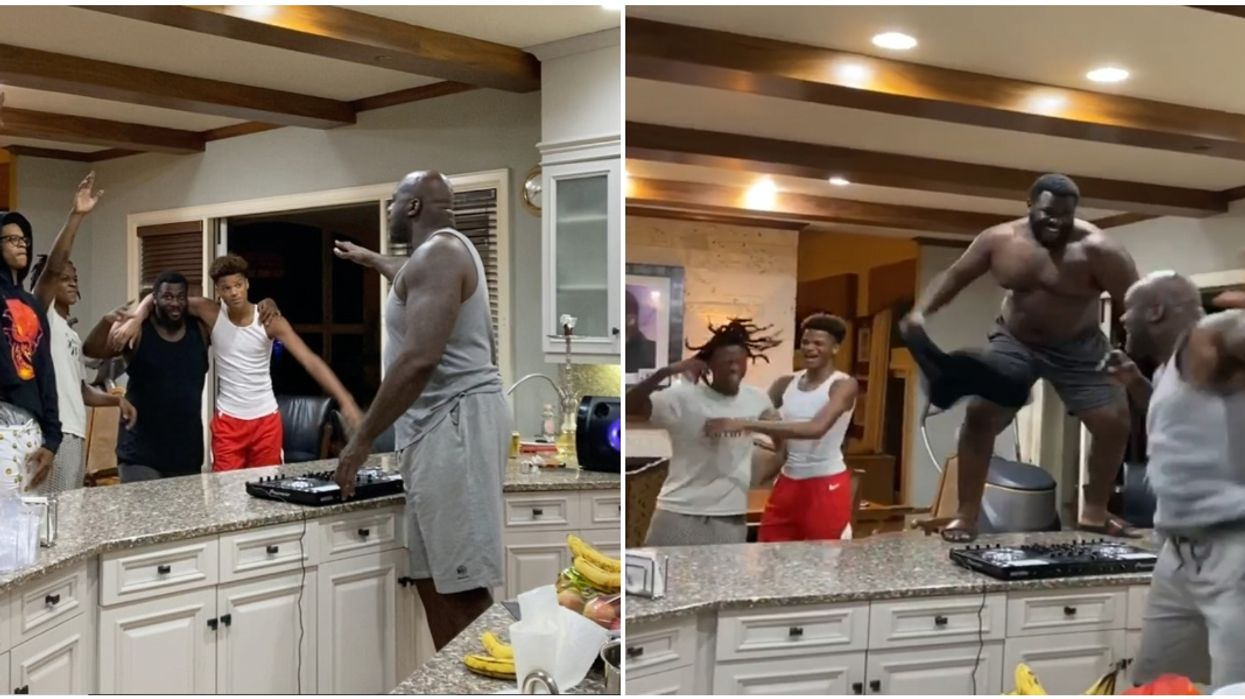 Shaquille O'Neal Kitchen Concert Instagram Post Will Make Your Day