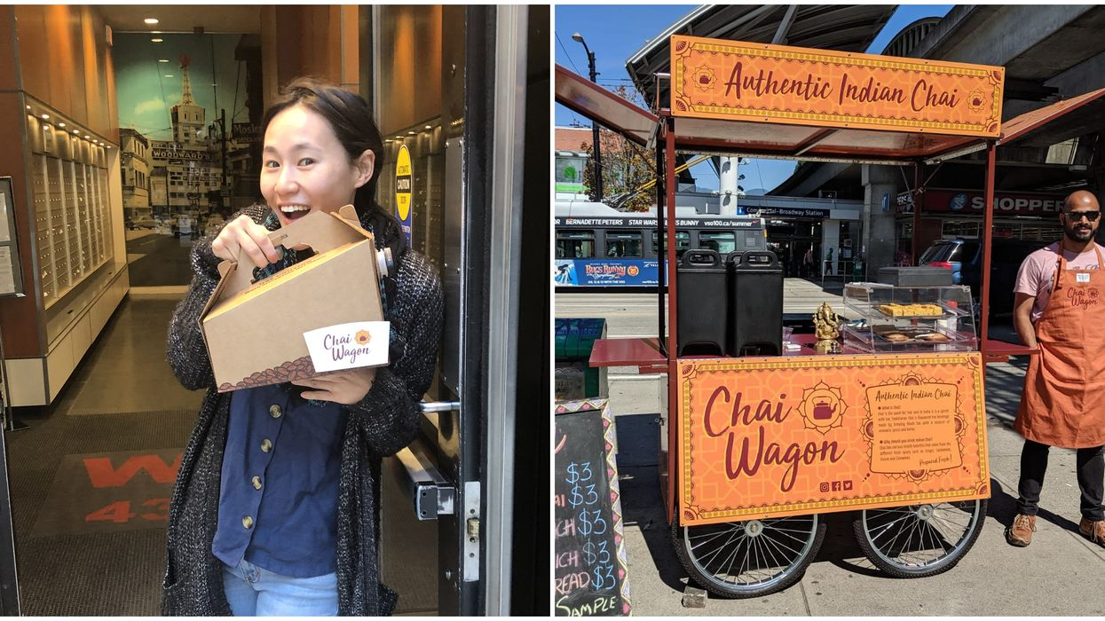 Vancouver's Chai Wagon Is Delivering Boxes Of Tea That Are Like Warm Hugs