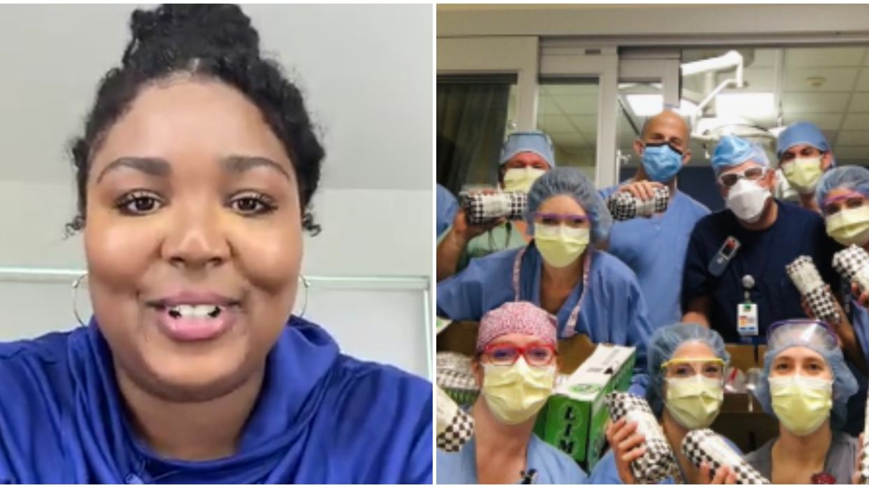 Lizzo Donated Meals To Seattle Medical Workers Proving She's '100 Percent That Generous'