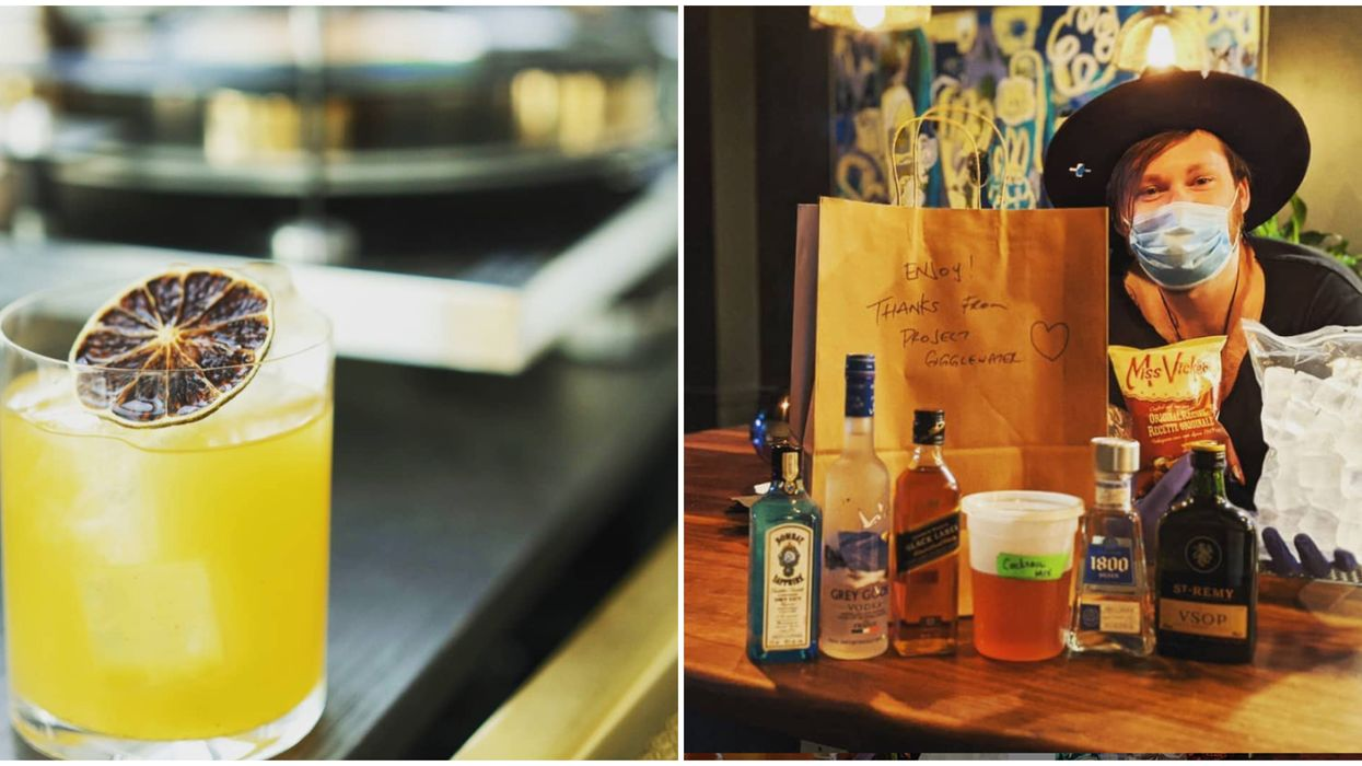Toronto's Cocktail Delivery Will Bring Quarantine-Themed Drinks To Your Door