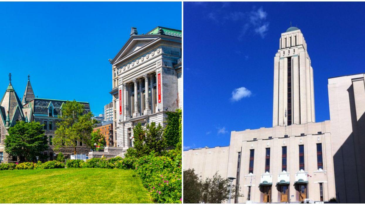 McGill et l'Université de Montréal