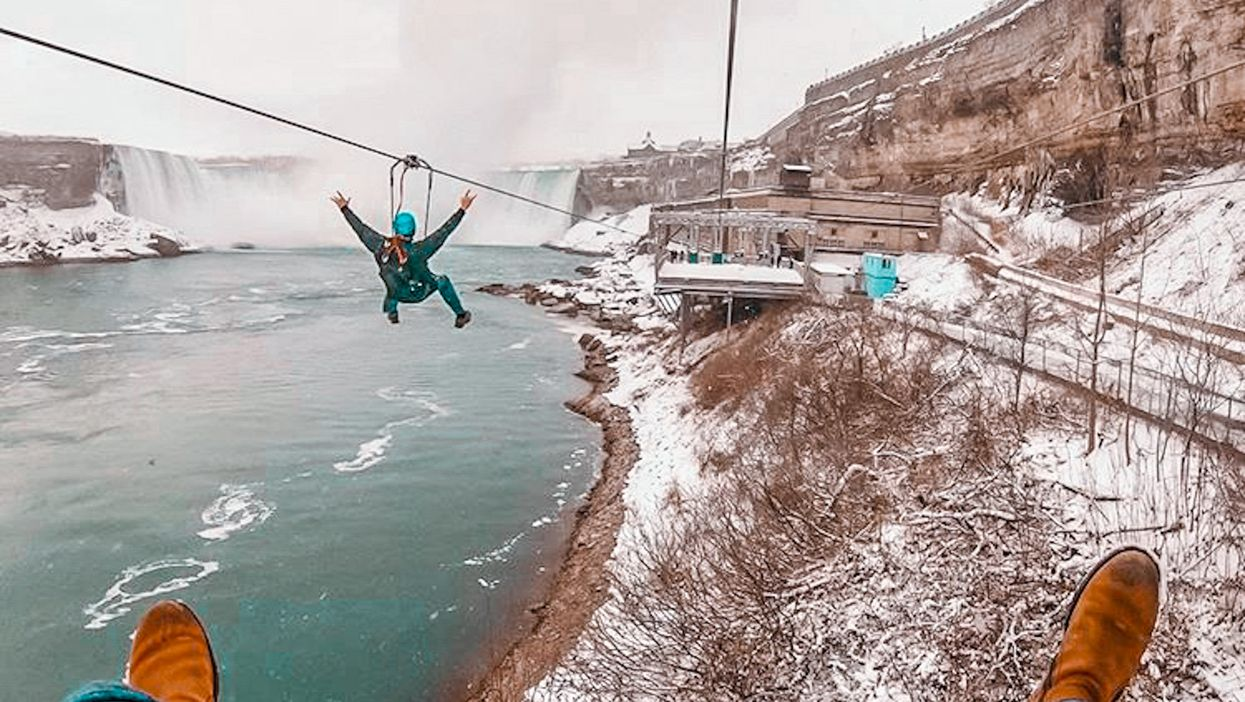 Niagara Falls Virtual Tours Let You Ride A Zipline From Your Couch