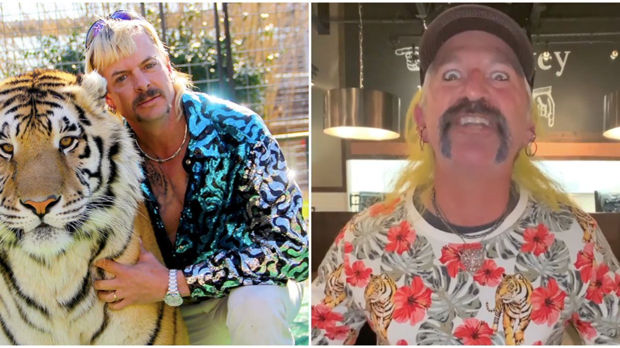 Tiger King's Joe Exotic Is The Look-A-Like Face At This Virginia Beach Restaurant