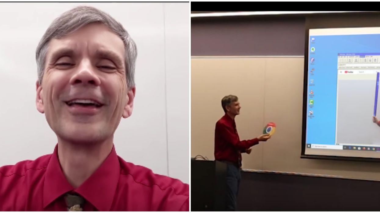 Math Teacher's April Fool's Prank Involved Creating A Digital Alter Ego Of Himself