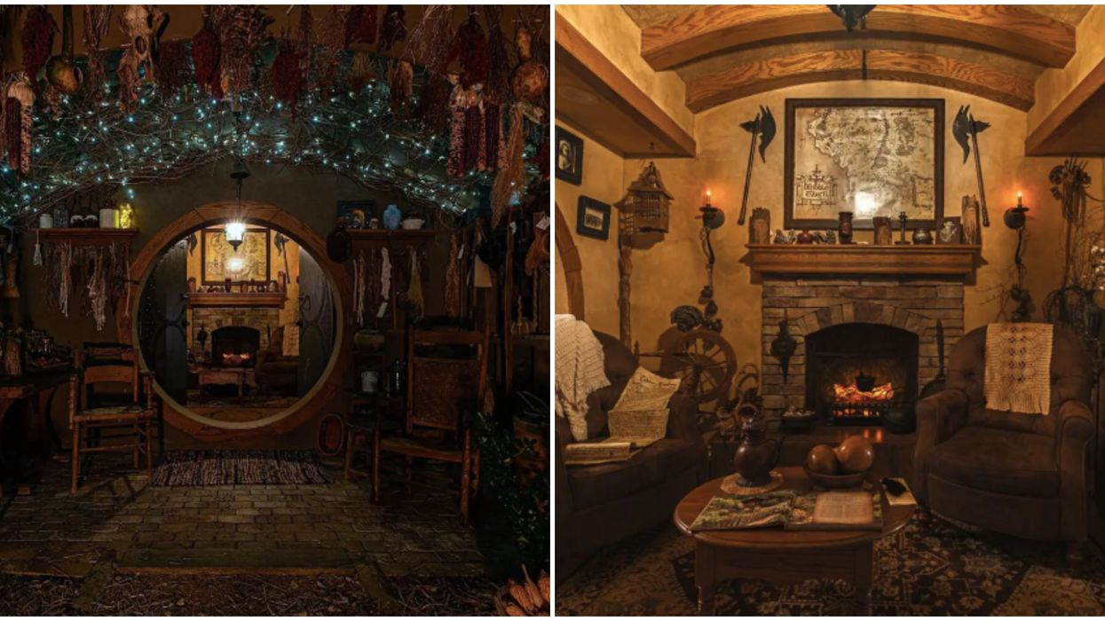 Airbnb In Virginia Is A Hobbit Dream House