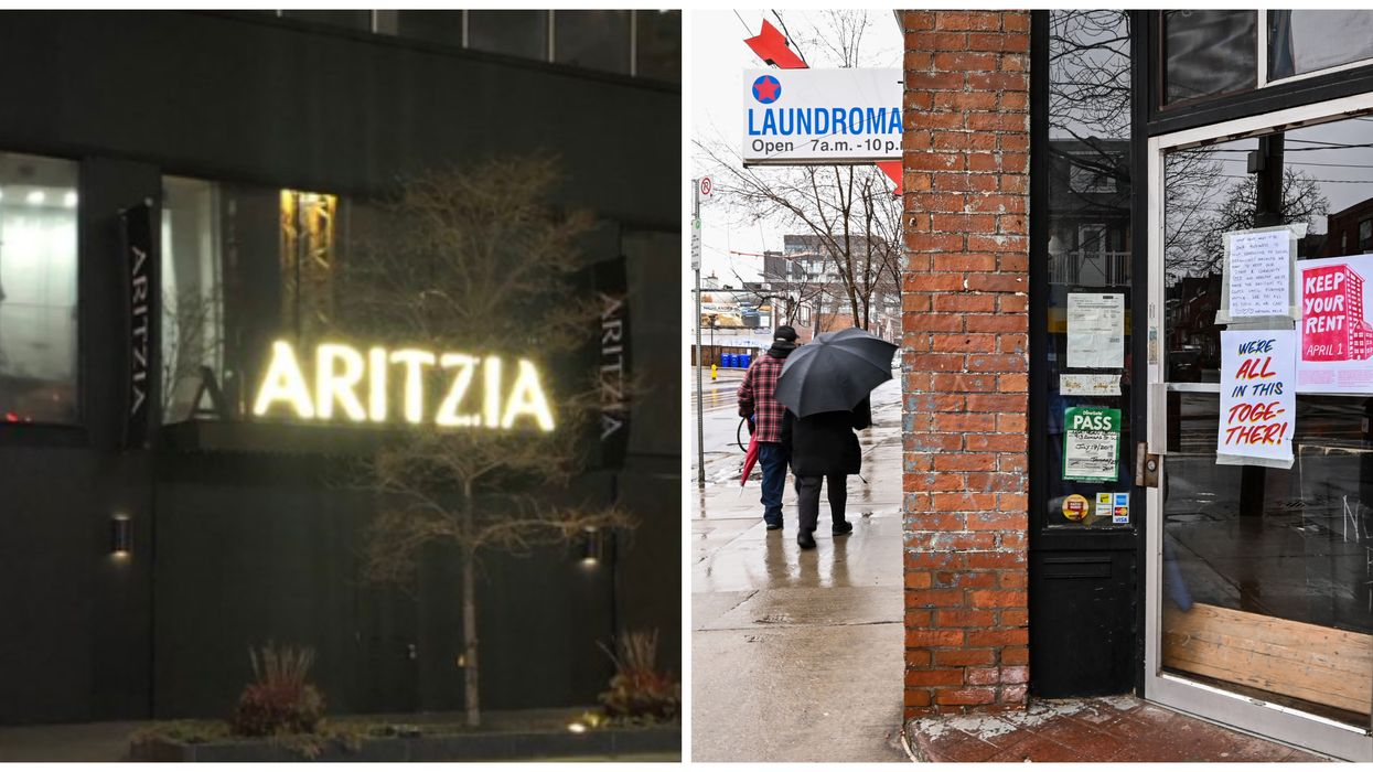 Toronto Stores Are Boarding Up Their Windows As The City Lockdown Continues (PHOTOS)