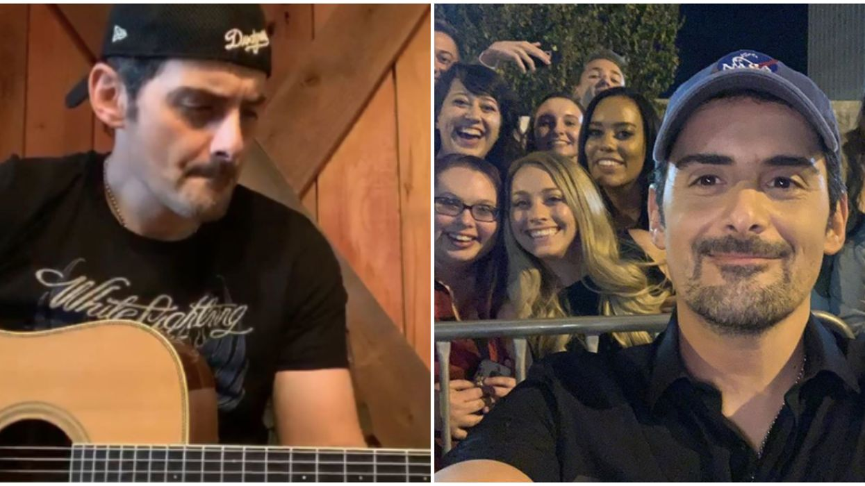 At-Home Concert Series With Brad Paisley Is Free & Will Bring Music To Your Living Room