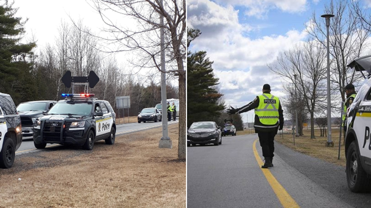 Voici comment ça se passe aux points de contrôle des régions fermées au Québec