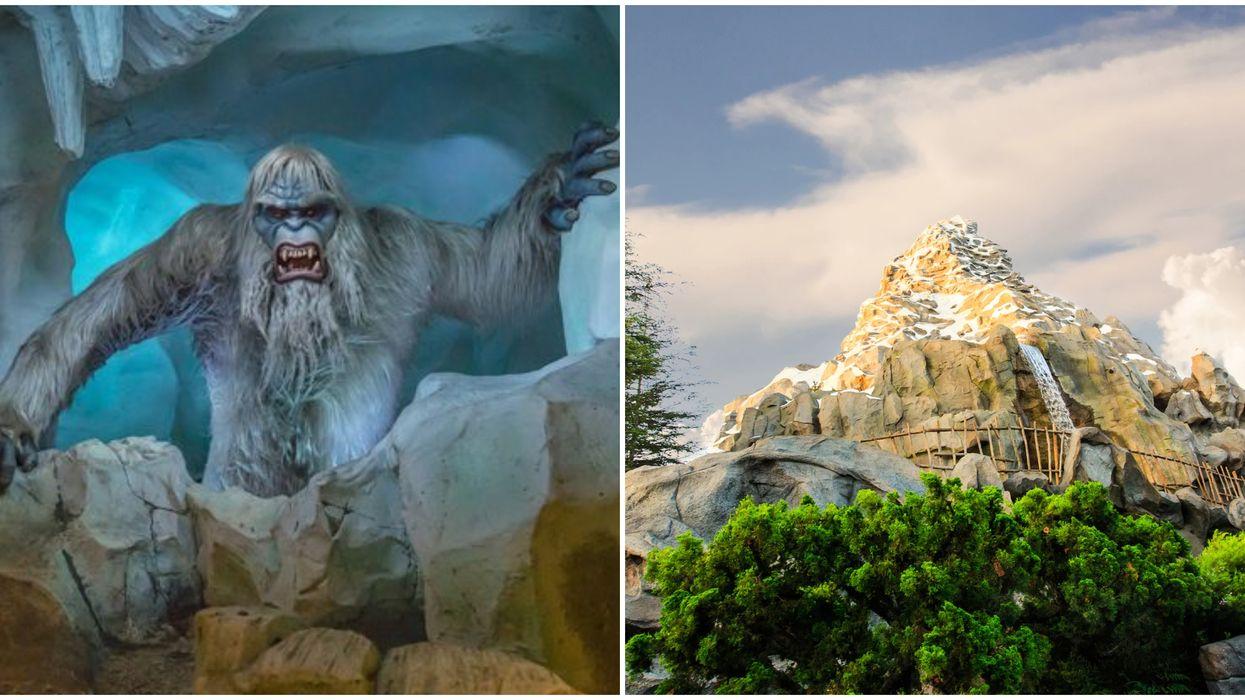 This Virtual Matterhorn Ride Takes You Flying Through Disneyland's Snowy Alps
