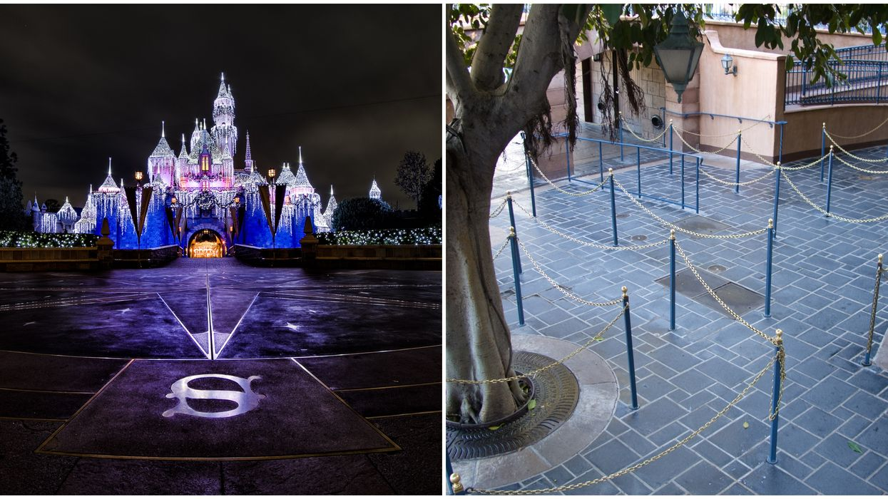 An Empty Disneyland Actually Looks Creepy & This Video Proves It