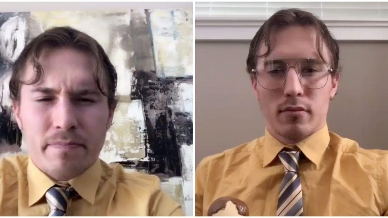 Brendan Gallagher reprend une scène de The Office sur TikTok et c'est hilarant