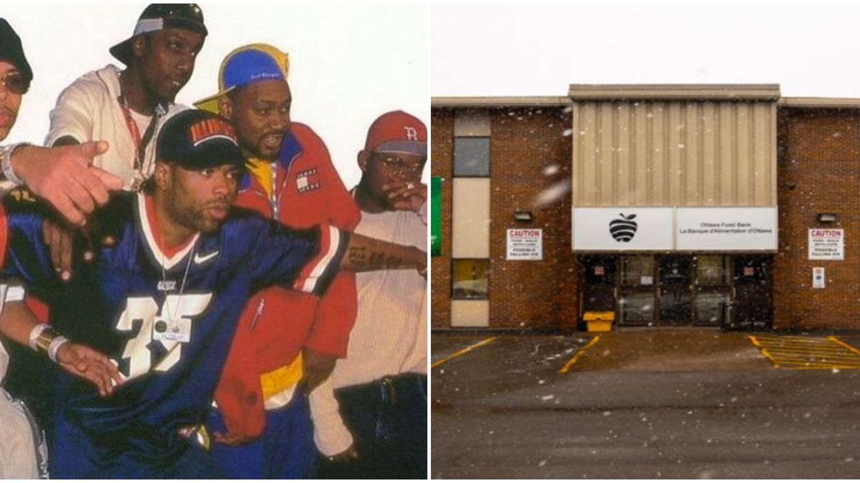 Wu-Tang Clan Donated To Ottawa Food Bank And It's So Random But So Great