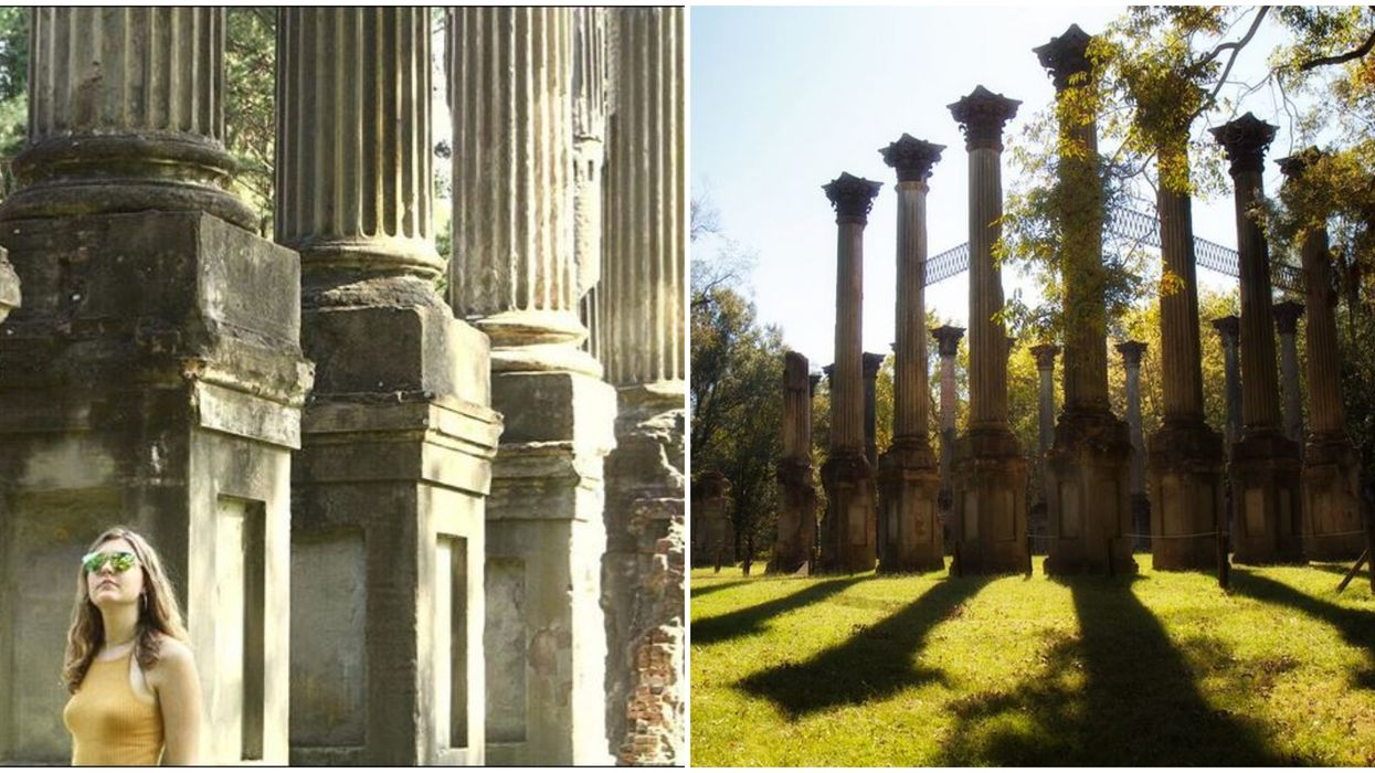 Windsor Ruins Among Abandoned Places To Explore In Mississippi That Feels Like Greece
