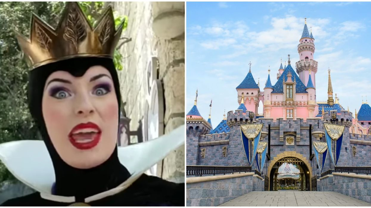 Disneyland's Evil Queen Proves She's Actually The Sassiest Of Them All In Hilarious Video