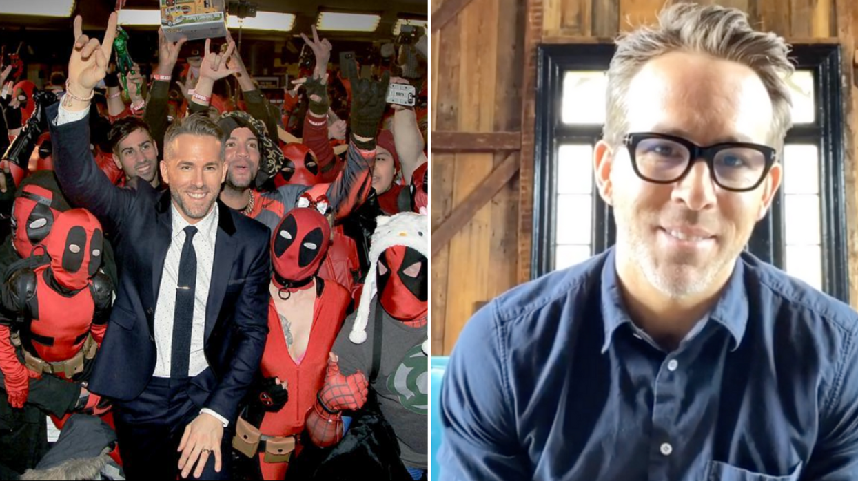 Ryan Reynolds Is Offering Torontonians A Ton Of Things In Exchange For Medical Supplies