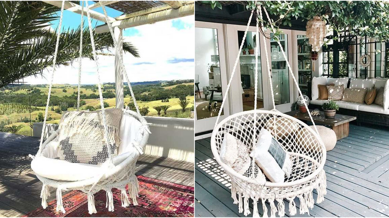 You Can Get This Super Cute Macrame Chair On Amazon Canada For $100