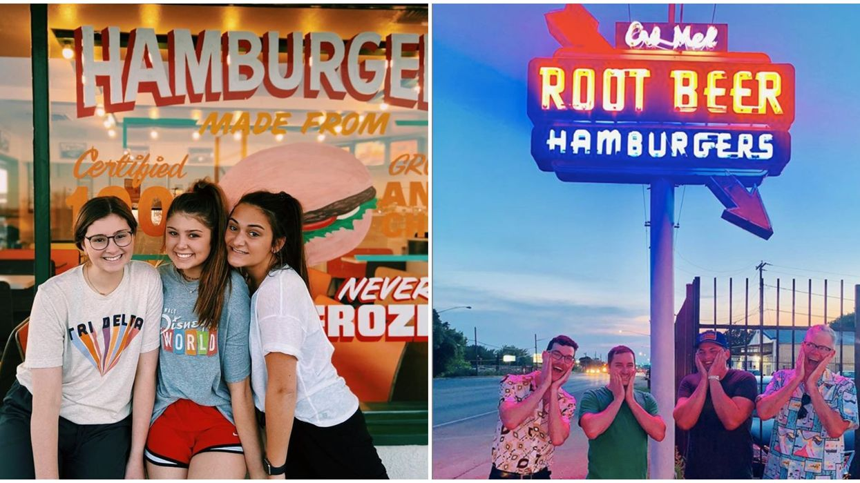 Retro Texas Drive In Eateries For Cute 50s Date Nights