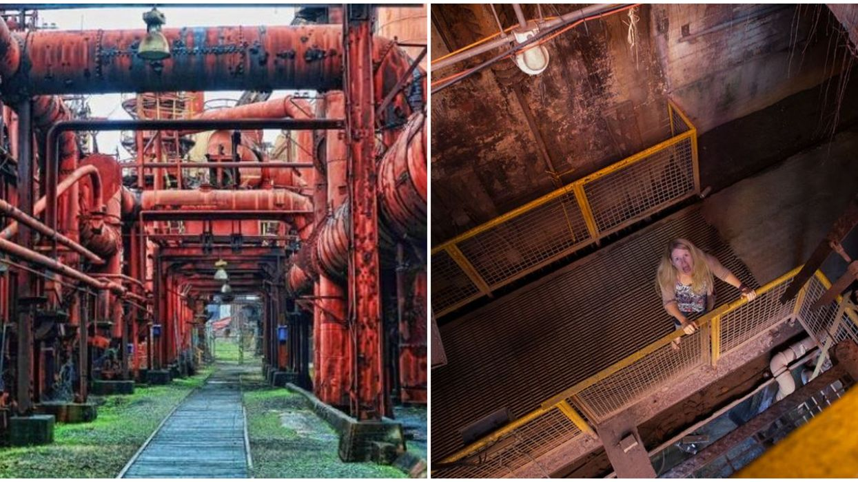 Places To Explore In Alabama Include Sloss Furnaces Creepy Remains