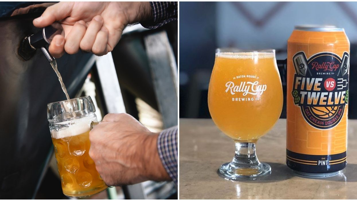 This Baton Rouge Brewery Set Up A Boozy 'Lemonade Stand' To Serve Their Draft Beer