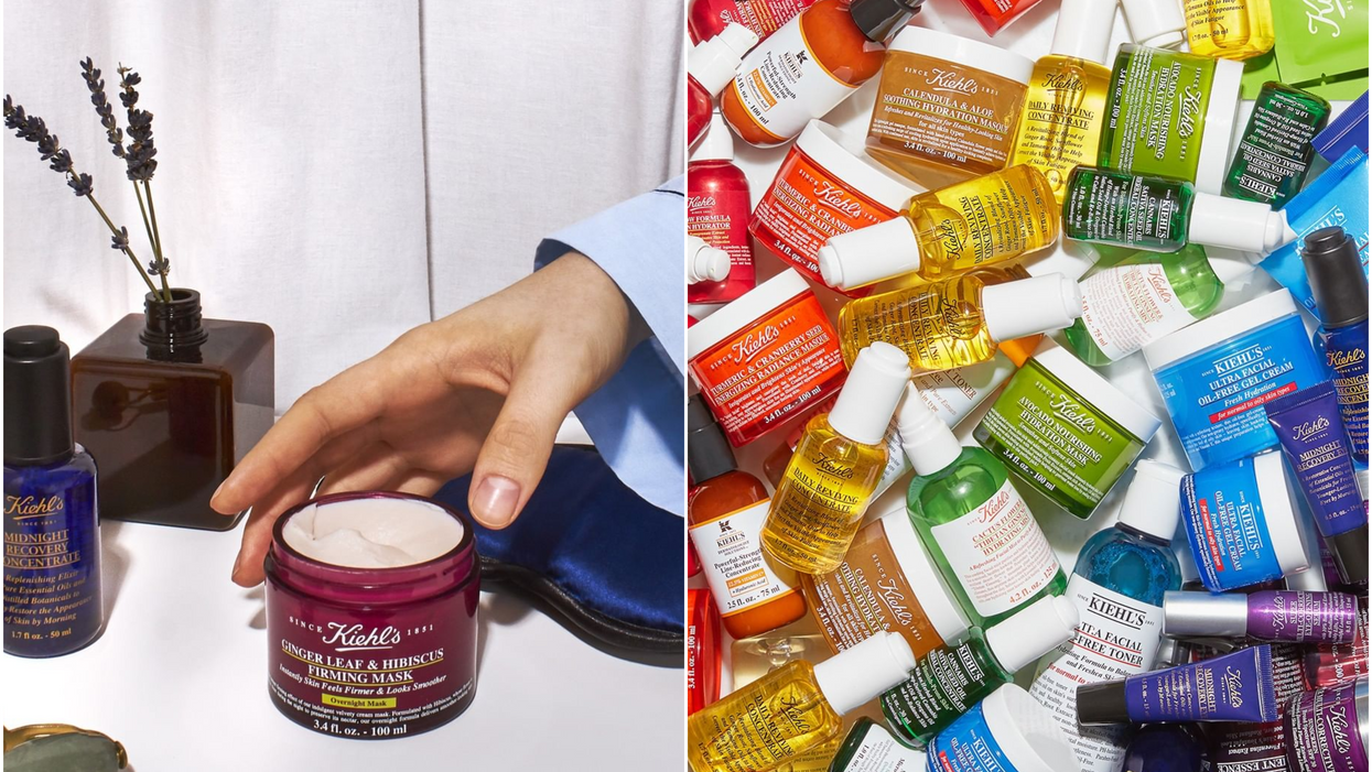 You Can Get 20% Off Everything Online At Kiehl's Canada Right Now