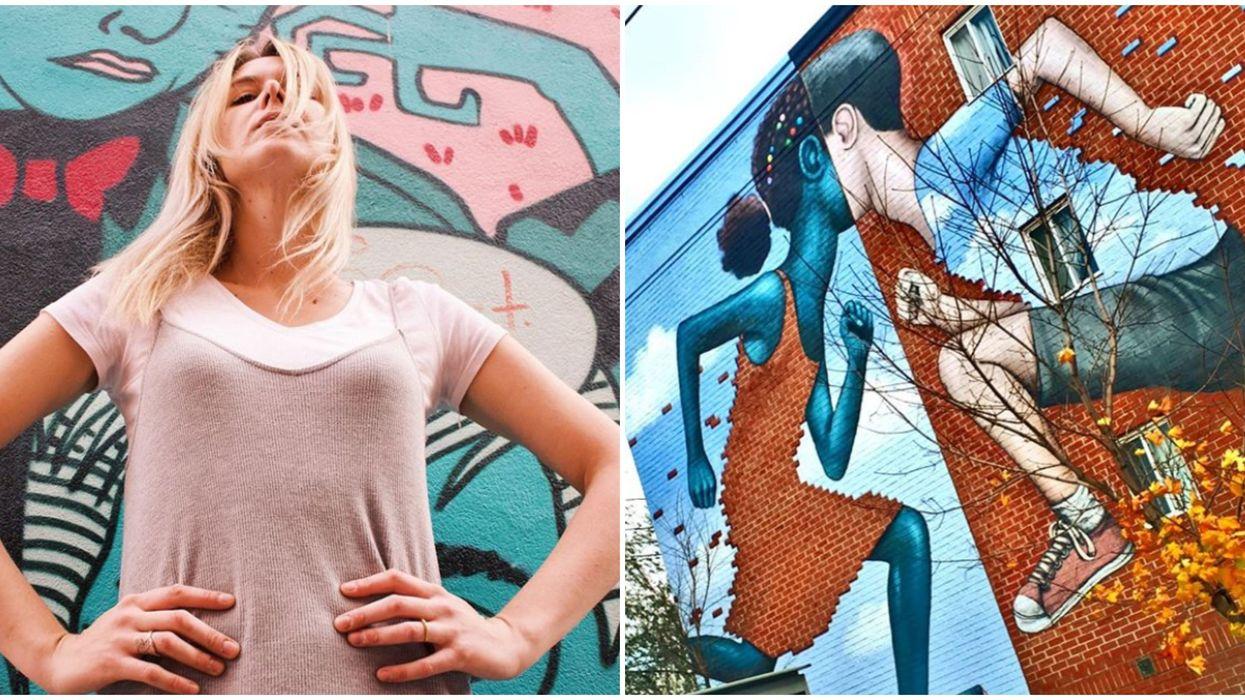 Deux murales de Montréal