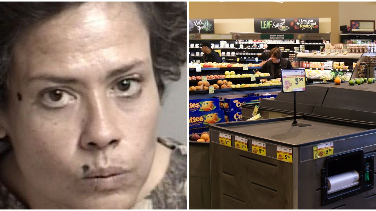 California Woman Arrested For Licking $1,800 Worth Of Grocery Store Items