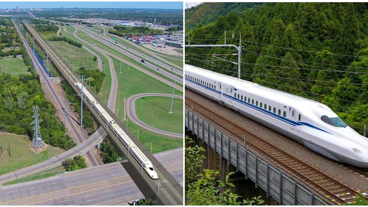 Texas' High Speed Bullet Train Project Might Get Terminated