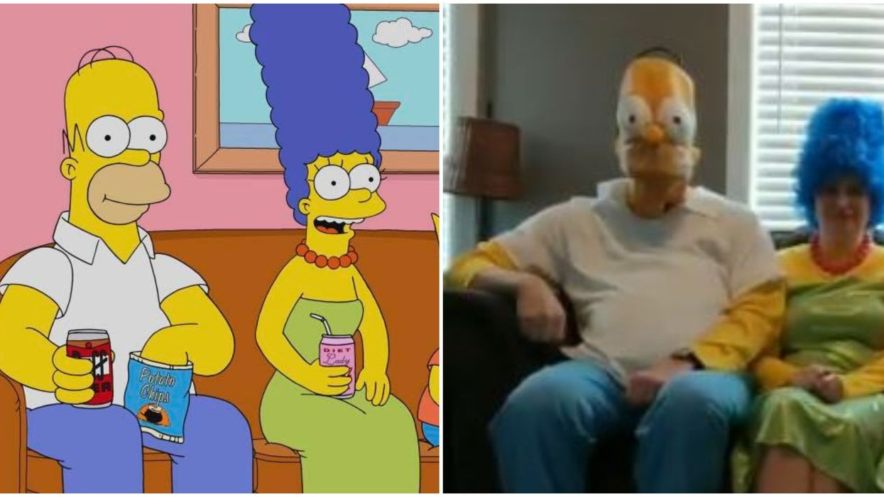 The Simpsons Intro Gets A Social Distancing Makeover From One Ontario Family