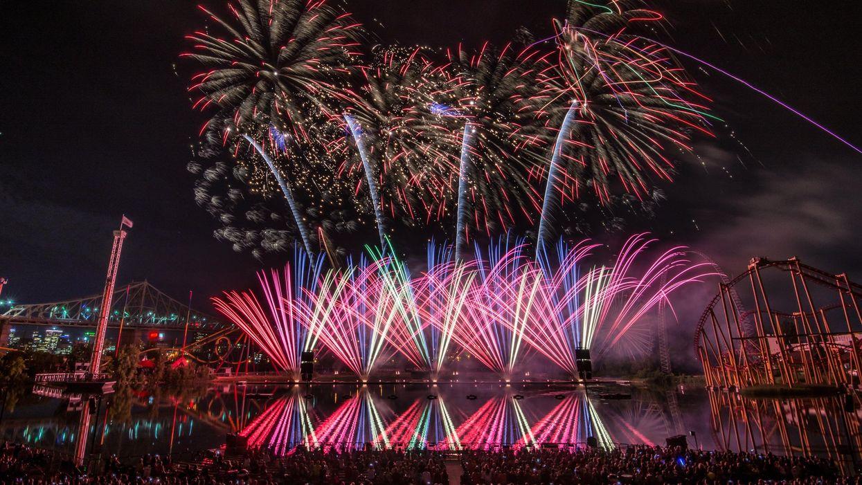 La Ronde annule ses feux d'artifice pour l'été 2020