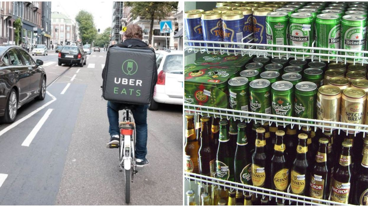 Uber Eats Alcohol Delivery Just Made Boozing From Home In Toronto Much Easier