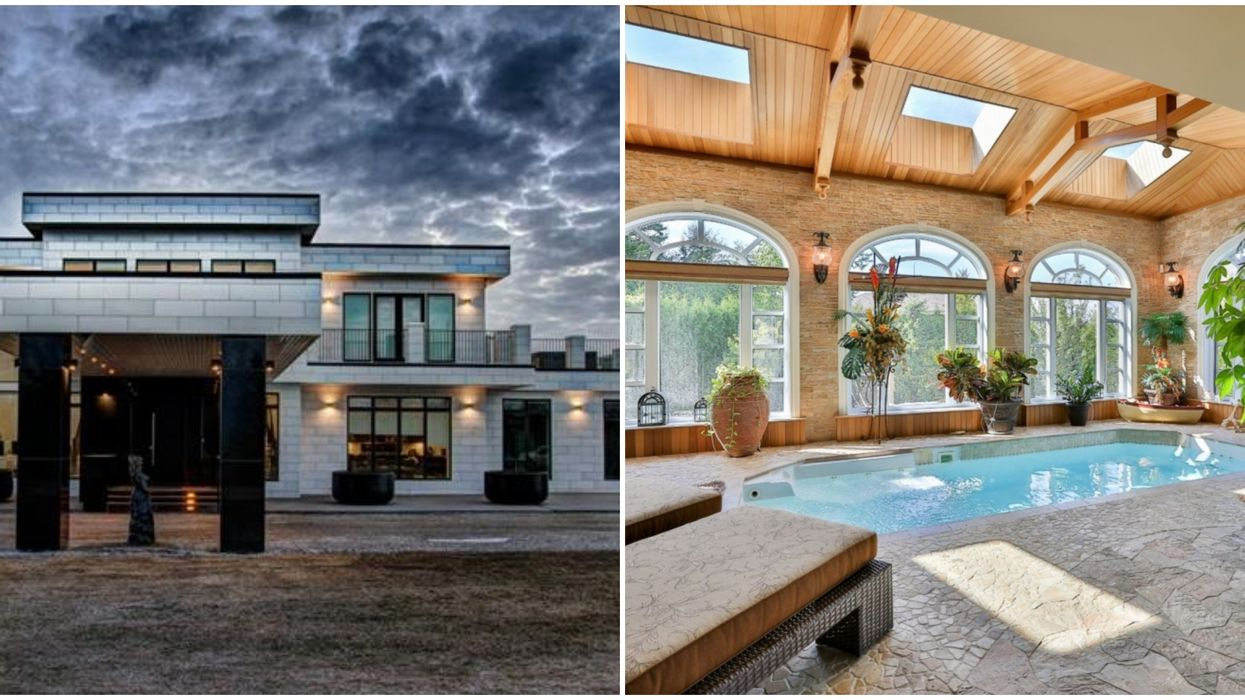 Mansions With Indoor Pools In Canada Are Stunning & You Don't Have To Go Outside To Swim