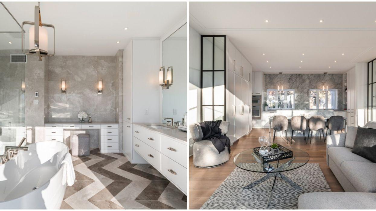Toutes les pièces de cette luxueuse maison de 5,1 M$ à Montréal vont te faire rêver