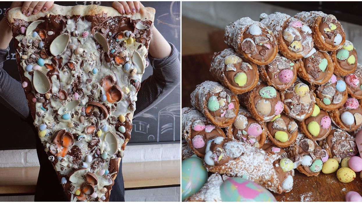 Lamanna's Bakery Has Giant Mini Egg Pizzas You Can Enjoy From Home