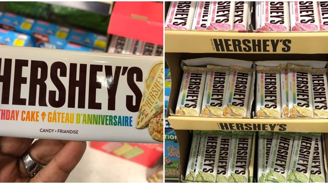 Hershey's New Chocolate Bars Are Available In Canada & 1 Of Them Tastes Like Birthday Cake