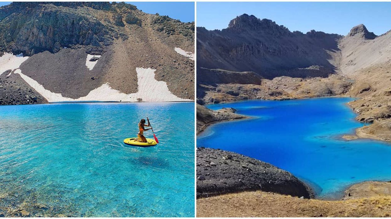 Columbine Lake In Colorado Features A Stunning Blue Water Lagoon (PHOTOS)