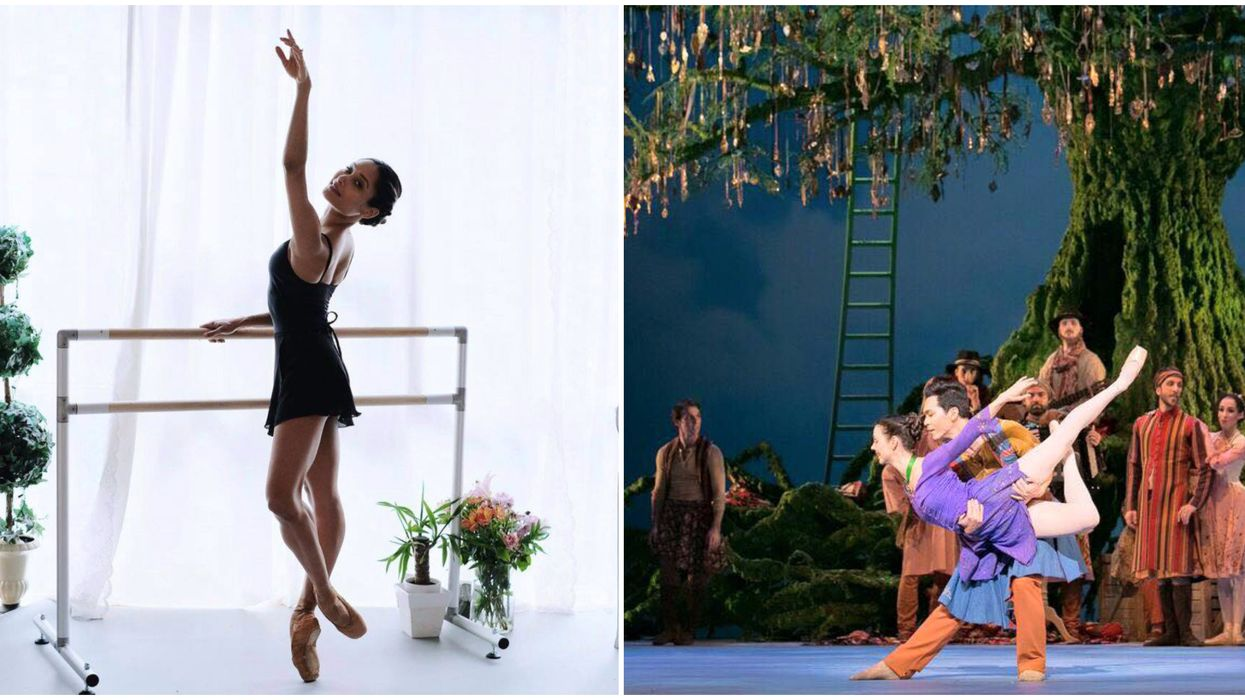 National Ballet Of Canada's Dance Lessons Will Turn You Into A Ballerina From Home
