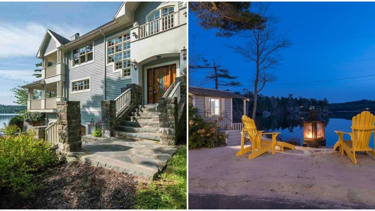 Nova Scotia House Has Its Own Private Beach That'll Make You Crave Summer